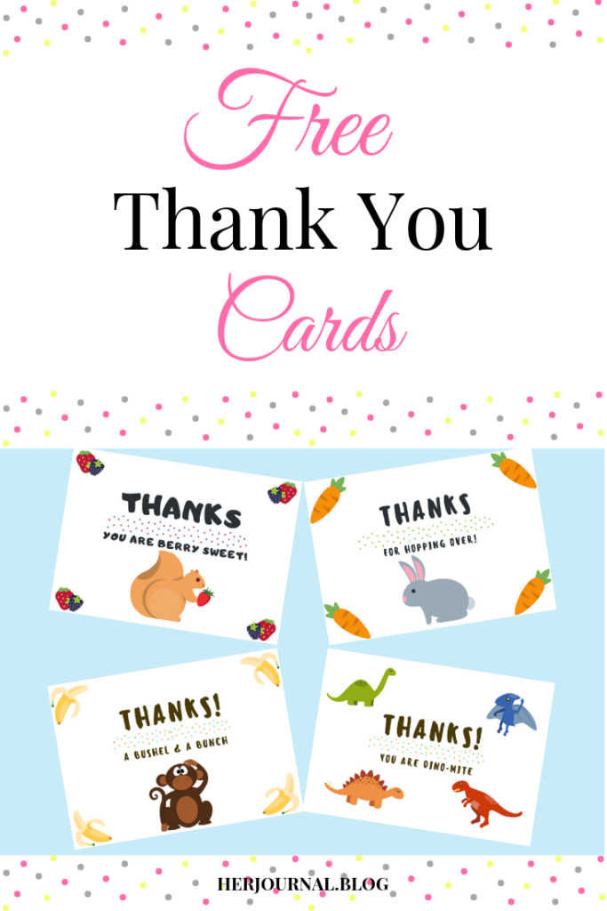 FREE thank you cards!