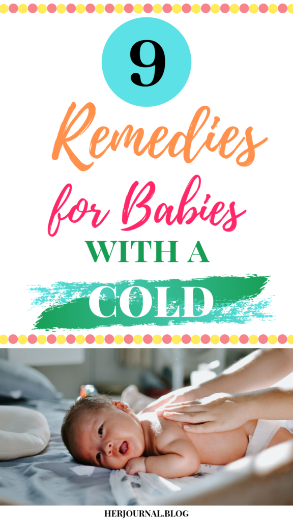 9 Remedies for Babies and Toddlers with a Cold | HerJournal.blog