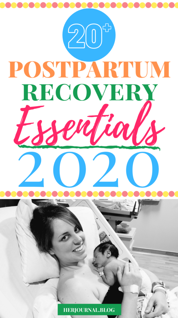 20+ Postpartum Recovery Essentials